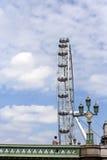 Ein Mann mit Auge von London Lizenzfreies Stockbild