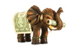 Ein Maskottchen für Geschäftsleute Lizenzfreie Stockfotos
