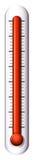 Ein Messgerät für Temperatur stock abbildung