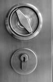 Ein Metallart-Schlüsselgriff Lizenzfreies Stockfoto