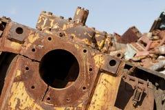 Kupfer und Stahl Lizenzfreie Stockbilder