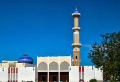 Ein Minarett der Moschee lizenzfreies stockbild