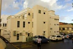 Ein ministerielles Gebäude in den Karibischen Meeren Lizenzfreie Stockfotos