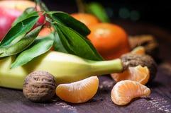 Ein Misch von frischen Früchten Lizenzfreie Stockbilder