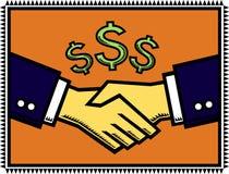 Ein mit Gewinn für beide Parteien Abkommen! Lizenzfreies Stockbild