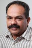 Ein Mitte gealterter indischer Mann stockfoto