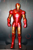 Ein Modell des Charakter Eisen-Mannes von den Filmen und von den Comics 4 Stockbild