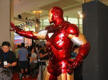 Ein Modell des Charakter Eisen-Mannes von den Filmen und von den Comics 19 Stockbilder
