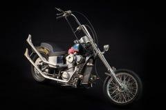 Ein Modellbau Honda-Motorrad stockfoto