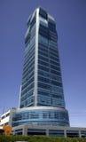 Ein moderm Gebäude Stockfoto