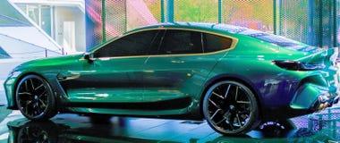 Ein moderner Sportwagen lizenzfreies stockbild