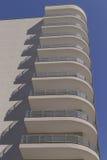 ein moderner Wohnblock Stockfotografie