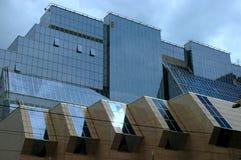 Ein modernes Architekturgebäude Lizenzfreies Stockbild