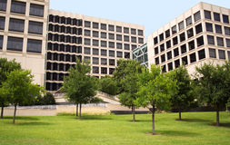 Ein modernes Biotech-Gebäude stockfotografie