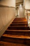 Hölzerne Treppe Stockfotografie