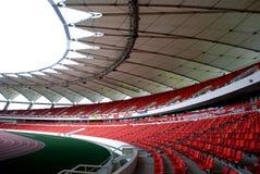 Ein modernes Stadion Stockfoto