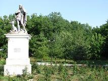 Ein Monument im Park Stockbilder