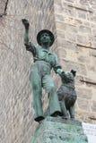 Ein Monument in Quedlinburg lizenzfreie stockbilder