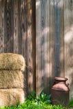 Ein Morgen auf dem Bauernhof Lizenzfreie Stockbilder