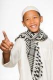 Moslemischer Junge Stockfotografie