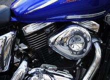 Ein Motorrad und alle Freiheit der Welt lizenzfreies stockbild