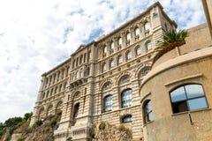 Ein Museum in Monaco Stockbilder