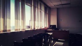 Ein Nachmittag in einem Klassenzimmer Lizenzfreies Stockbild