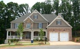 Ein nagelneues Haus Lizenzfreies Stockbild