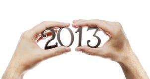 Ein nagelneues Jahr Stockbild
