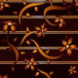 Mahagoniblumen-Hintergrund Lizenzfreies Stockbild