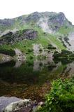 Ein natürlicher See in West-Tatra Bergen Rohace, Slowakei Lizenzfreies Stockfoto