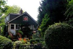 Ein nettes britisches Landhaus Stockfotos