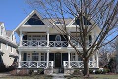 Ein nettes Haus Lizenzfreies Stockfoto