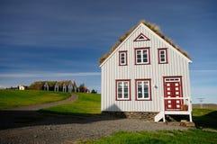 Ein nettes Haus in Glaumbaer, Island Stockfotos