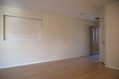 Ein nettes leeres Haus Lizenzfreie Stockfotografie