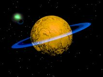 Ein neuer Planet Stockfoto