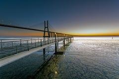 Ein neuer Tag in Lissabon Lizenzfreies Stockbild