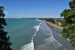 Ein Neuseeland-Strand Lizenzfreies Stockbild