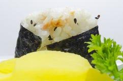 Ein nigiri Sushi Stockbild