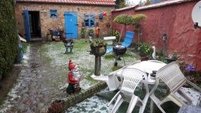 ein normaler Garten stockbild
