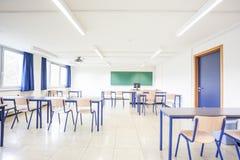 Ein normales Klassenzimmer stockbild
