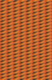 Ein orange und graues Muster von diagonalen und unregelmäßigen Formen stock abbildung