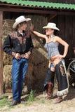 Ein paar Cowboys Lizenzfreies Stockbild