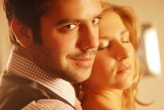 Ein Paar in der Liebe Lizenzfreie Stockfotos