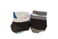 Ein Paar faltende Socken Lizenzfreies Stockfoto