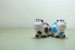 Ein paar Kuh Stockbild