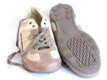 Ein Paar Schuhe stockfoto