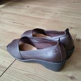 Ein Paar Schuhe Lizenzfreie Stockbilder