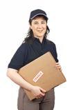 Ein Paket liefern zerbrechlich stockbilder