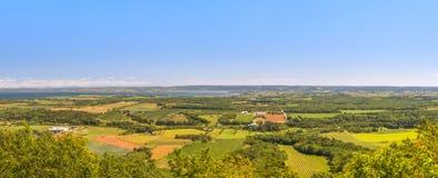 Ein Panoramablick vom Blomidon-Park schauen weg Lizenzfreie Stockbilder